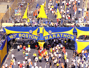 Boston annual marathon