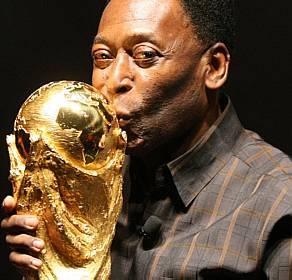 Soccer legend Pele