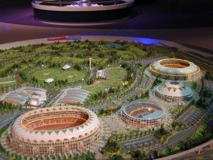 Sports complex city