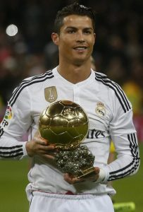 Ronaldo the king of football
