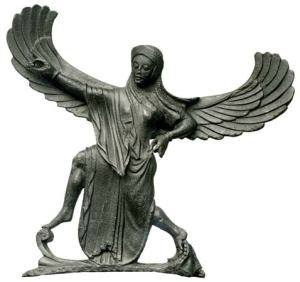 Victory goddess