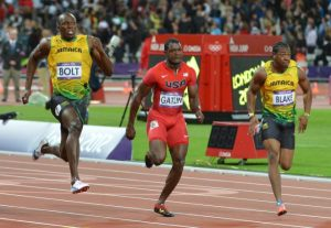 100 meters men