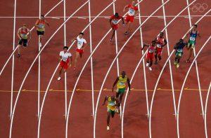 Short race 400 meters